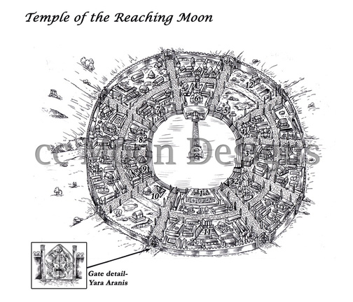 Temple of the reaching moon Gallery